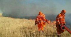 蒙古国草原火蔓延至我国境内 火势漫山遍野消防连夜扑救!